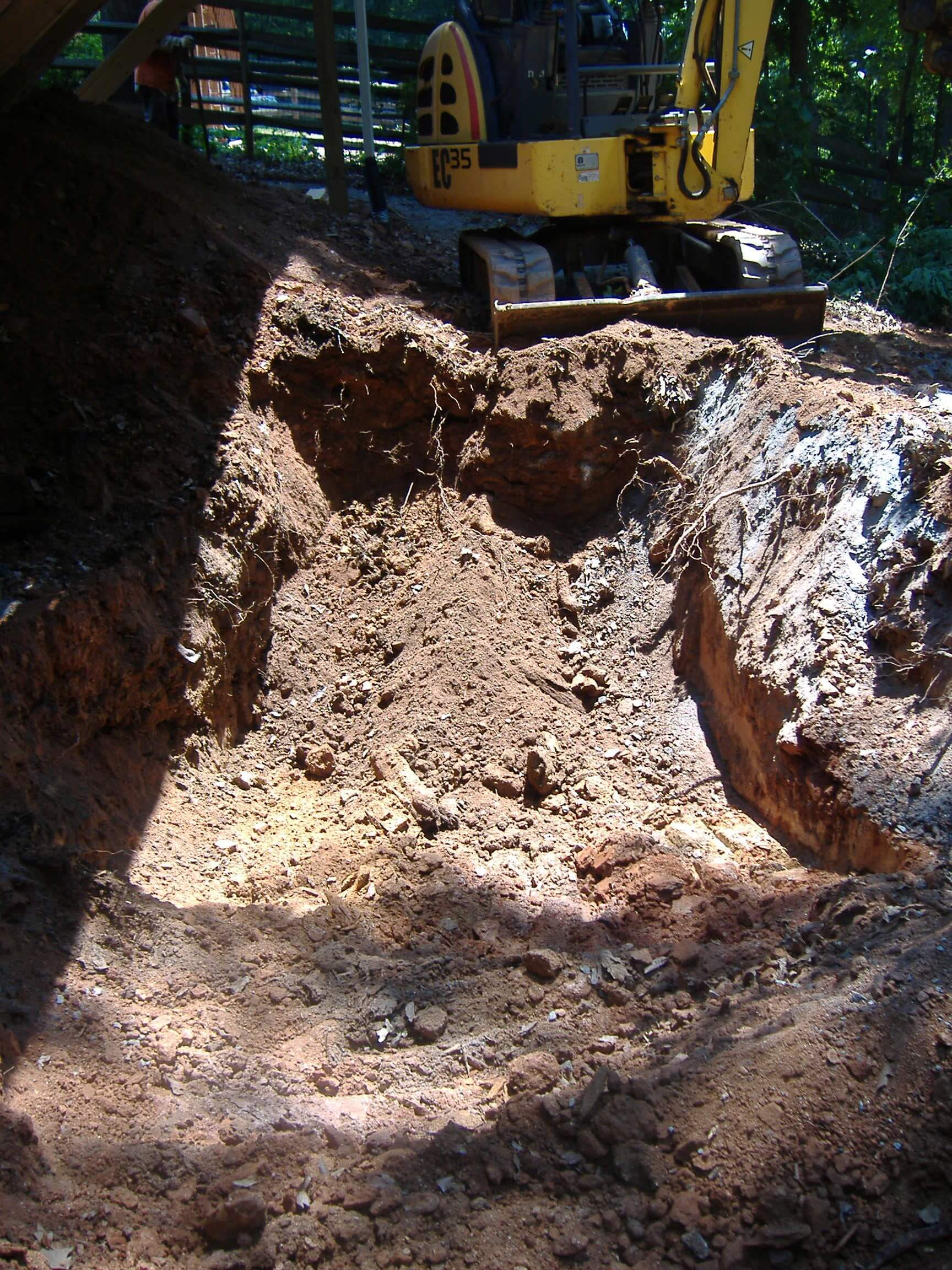 Under Deck Sinkhole Repair Atlanta Sinkhole Repair C Amp M