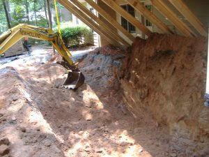 Sinkhole in Marietta, GA