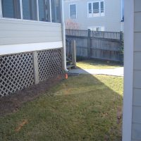 Backyard Renovation Before