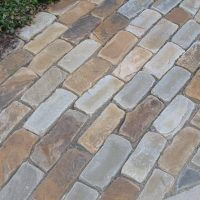 Brown Crab Tumbled Cobble Paver
