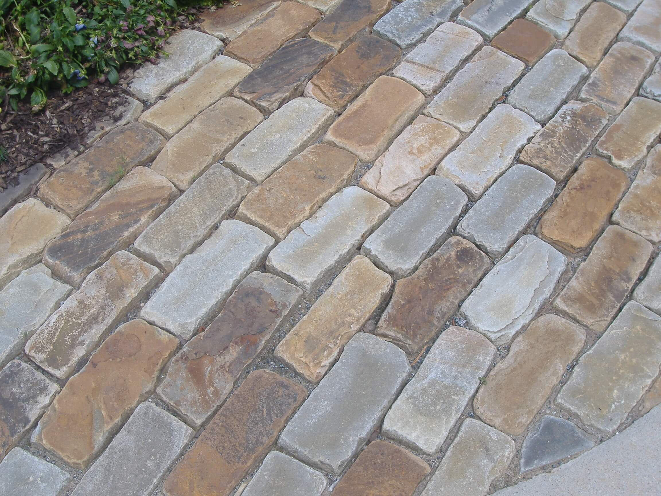Stone Walkways Patios Pavers Ideas Pictures In Sandy