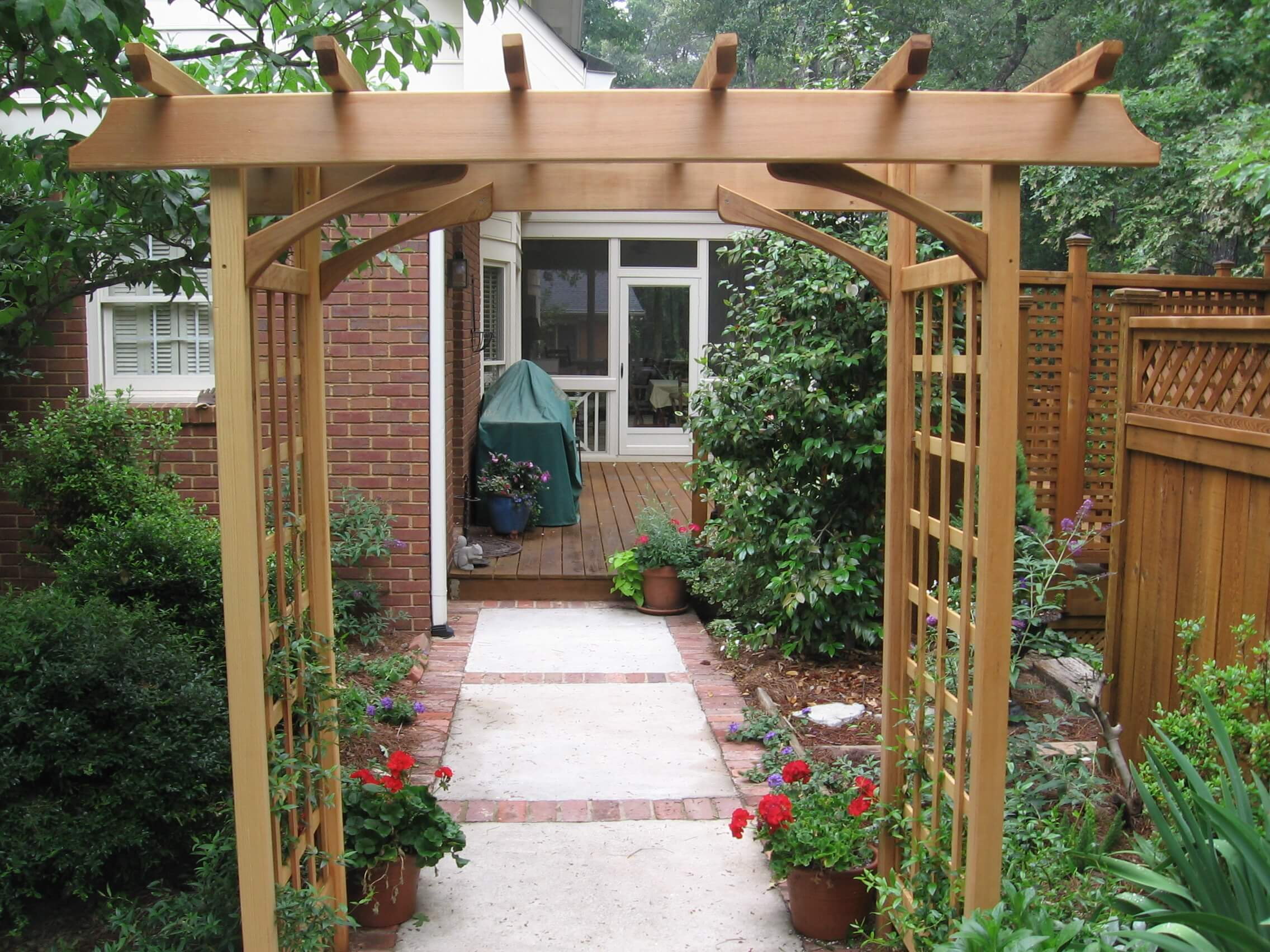 arbors and shade structures