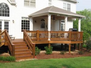 Custom Carpentry - Porch
