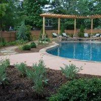 Pool Landscaping Marietta
