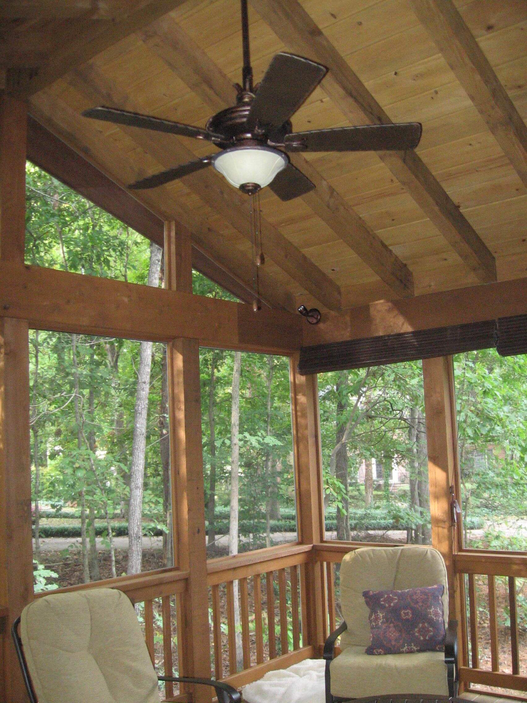 Screened porch designs five regrets to avoid cm for Pool design regrets