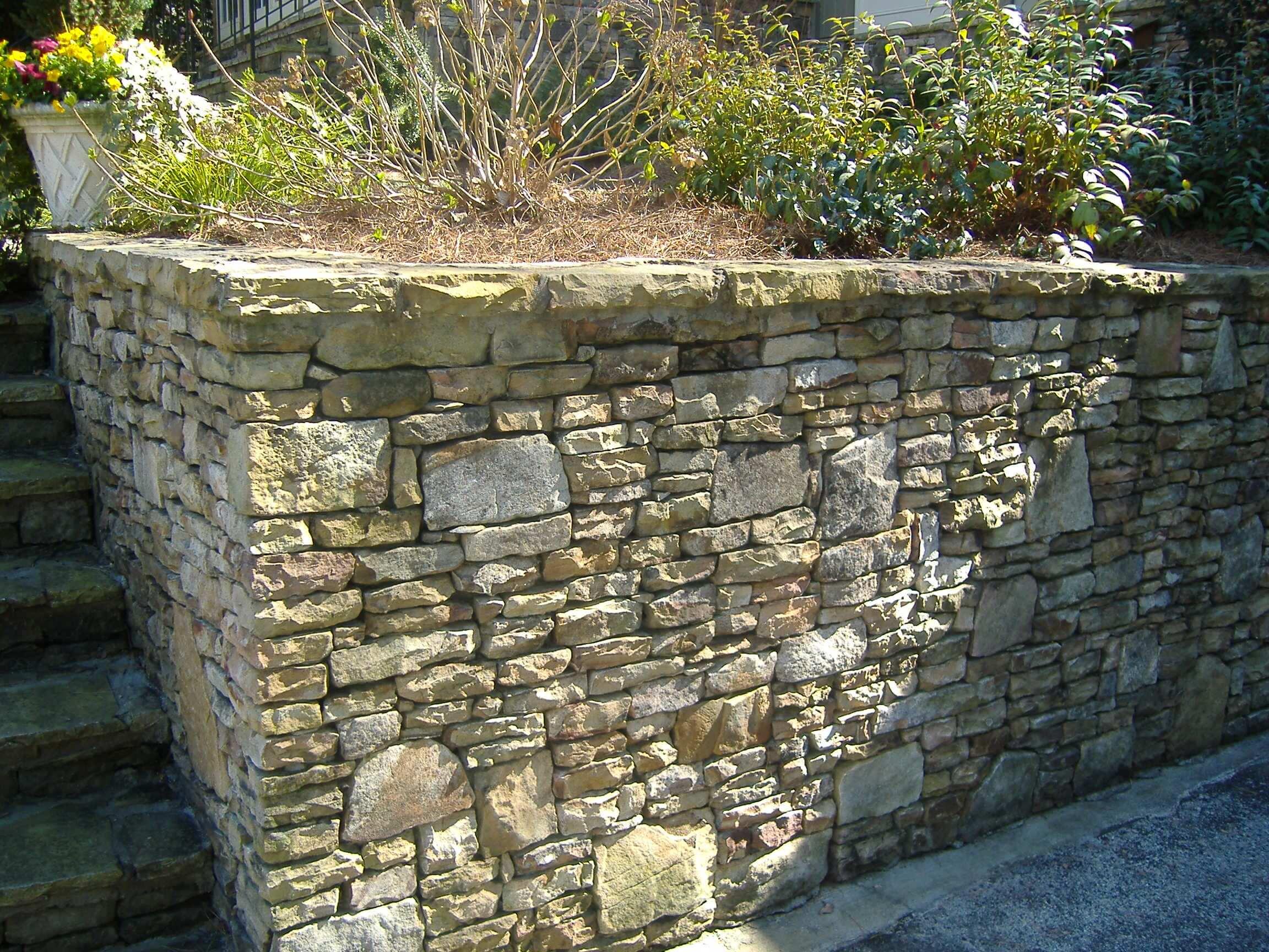 Stone Face Concrete Blocks : Masonry