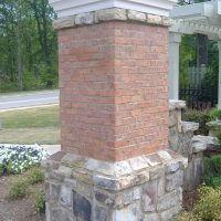 Stone and Brick column