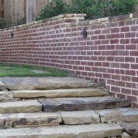 brickwallstonesteps