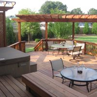 Custom Deck and Pergola