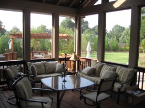 Custom Screened in Porch