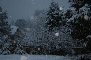 Snow in Marietta