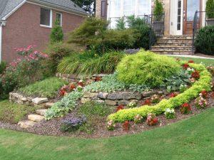 landscaped lawn marietta
